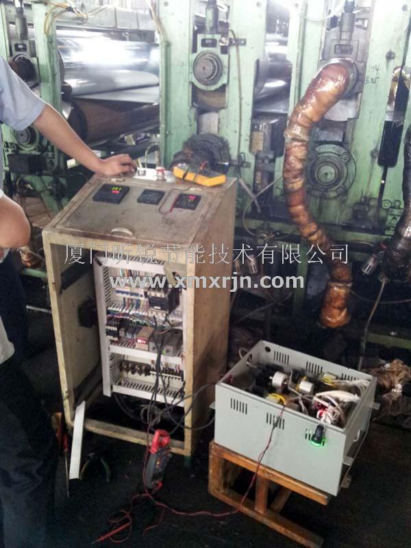 >> 我司电磁加热控制器成功在铝塑机上应用并量产